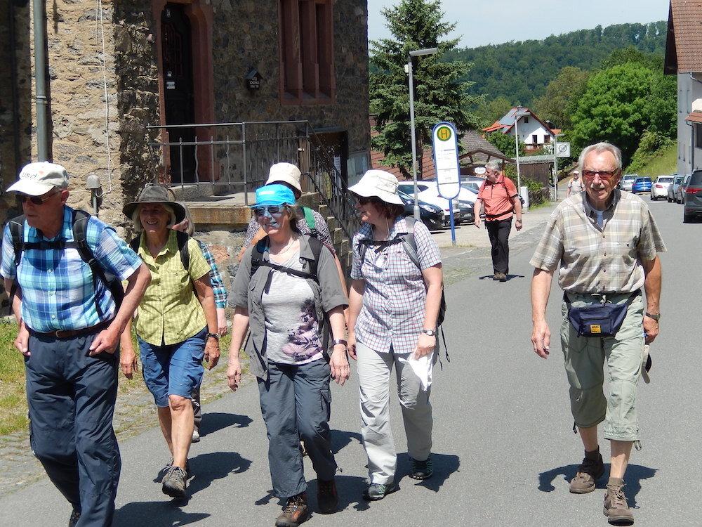 Odenwaldwanderung Mai 2017